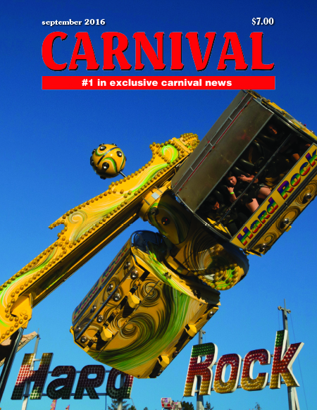 Hard Rock Midway Ride Sonoma County Fair, September Issue Image taken July 24, 2016