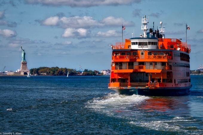 Staten Island Ferry Upper Bay/Lower Manhattan September 17, 2016