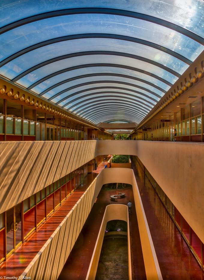 Marin Civic Center Designed by Frank Lloyd Wright San Rafael, CA, U.S.A. October 20, 2016