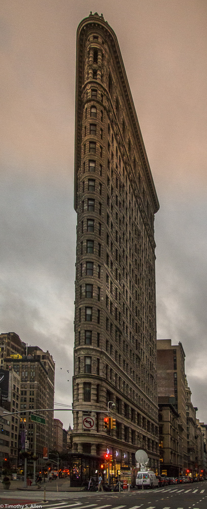 Flat Iron Build 23rd St and 5th Ave, New York City, NY, U.S.A. September 19, 2015