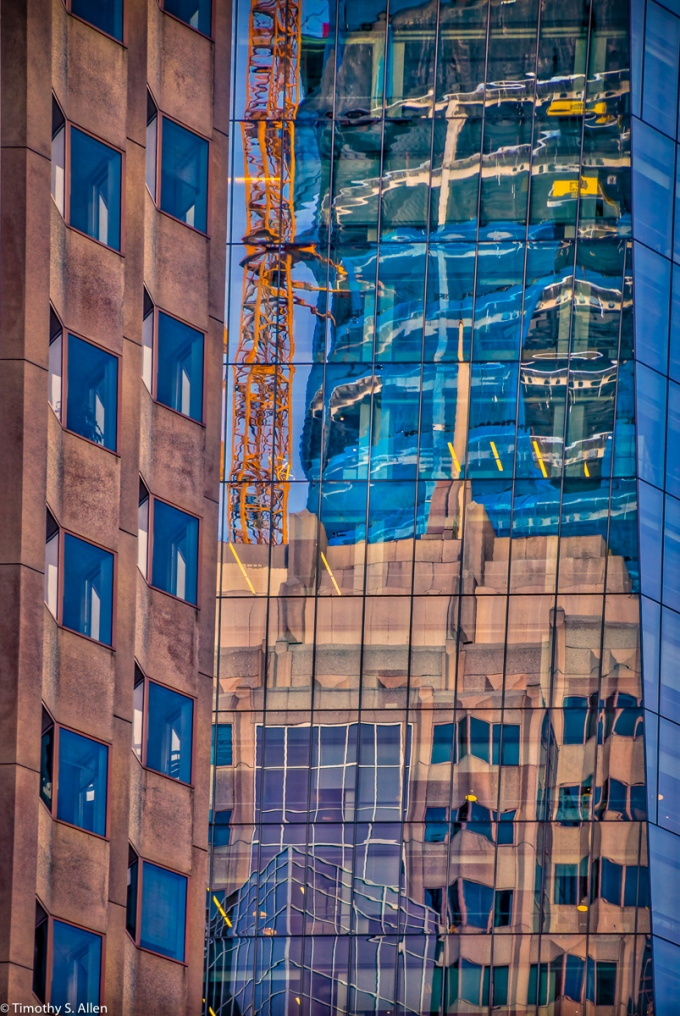 Construction at 1st and Mission Streets, San Francisco, CA, U.S.A., October 7, 2016.