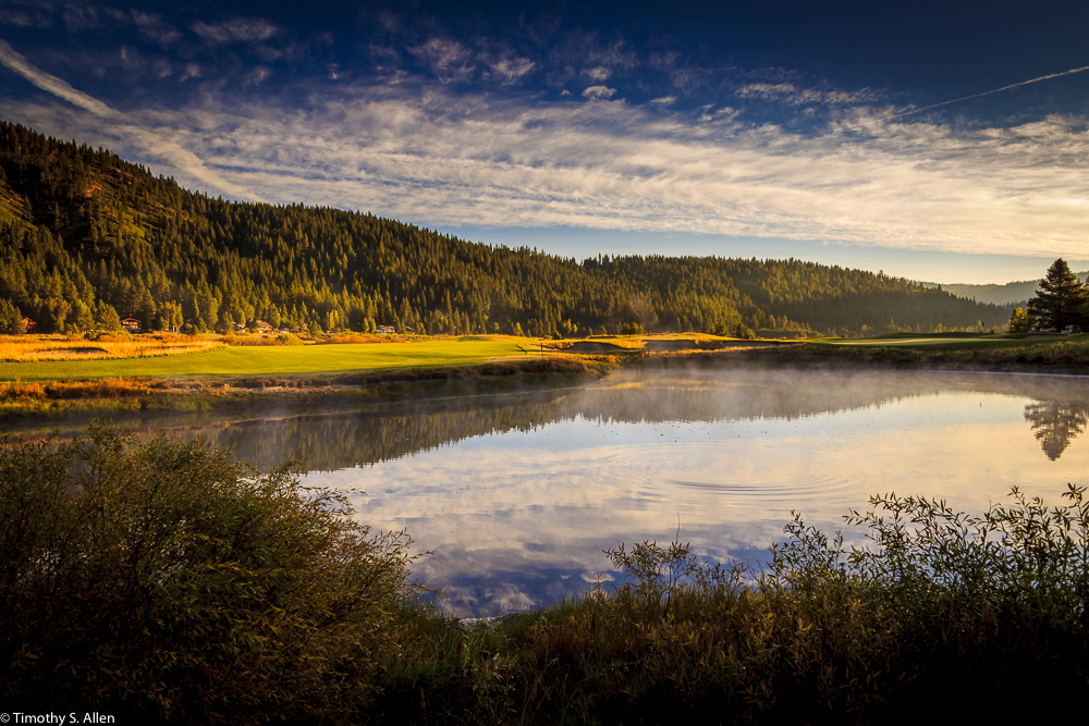 Resort at Squaw Creek, Olympic Valley, Lake Tahoe, California, USA August 17, 2015