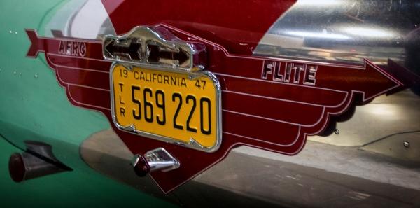 Aero Flite Travel Trailer California Automobile Museum – http://www.calautomuseum.org – Sacramento, California, U.S.A. – March 31, 2016