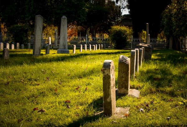 Old City Cemetery, Sacramento, CA, U.S.A. November 12, 2016