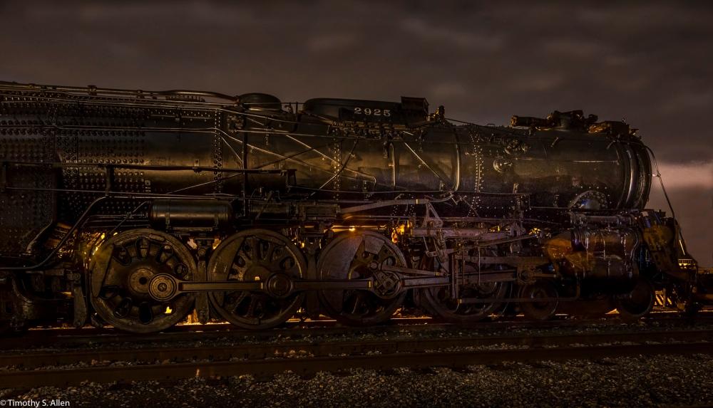 Light Painting California State Railroad Museum Sacramento, CA, U.S.A. November 12, 2016