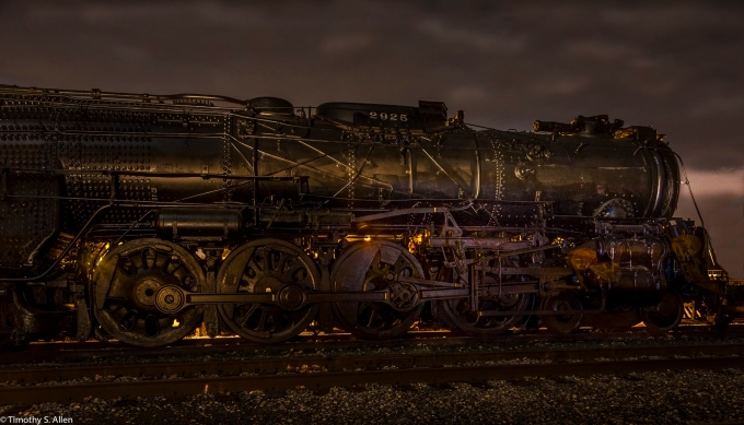 Light Painting California State Railroad Museum Sacramento, CA, U.S.A. November 12, 2016