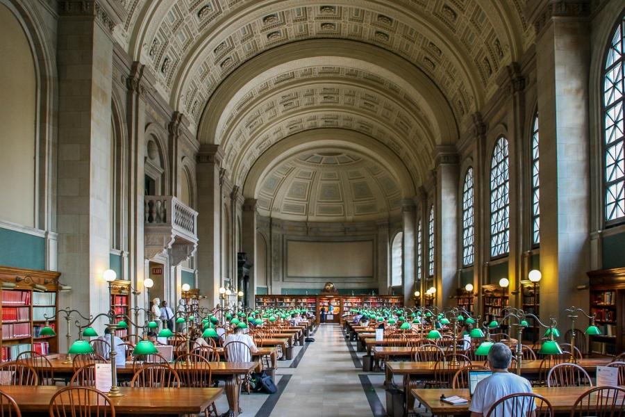 Boston Public Library Boston, MA, U.S.A. July 29, 2008