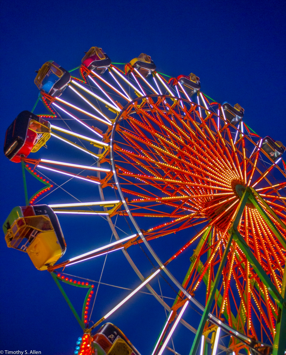 Midway at the California State Fair Sacramento, CA, U.S.A. July 12, 2014