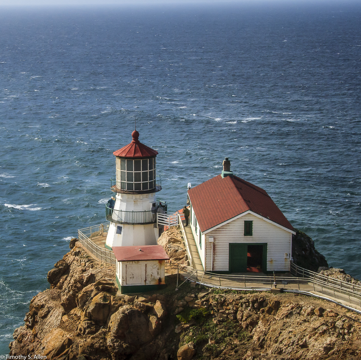 Point Reyes Lighthouse Point Reyes National Seashore January 7, 2013