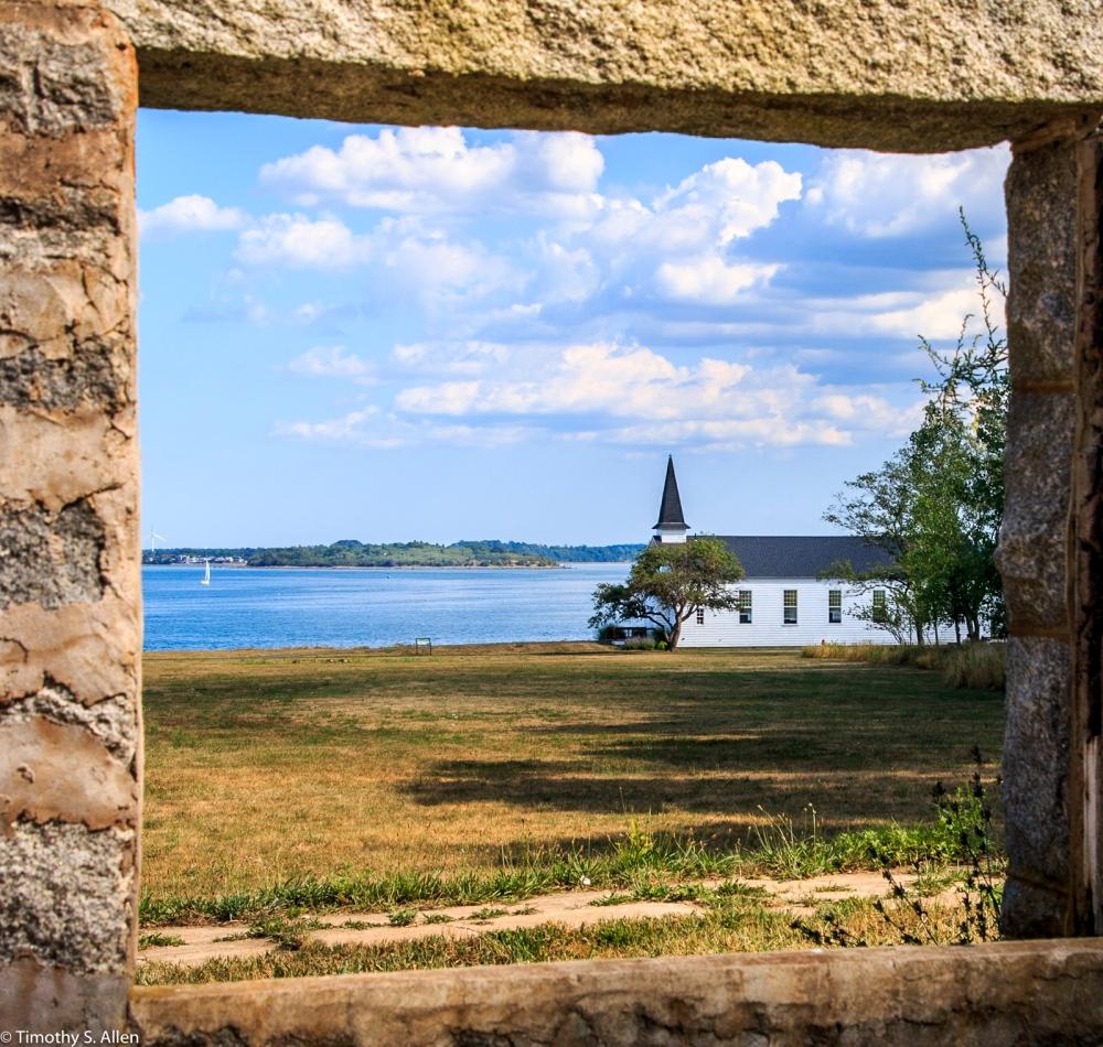 Peddock's Island Boston Harbor Islands Boston, MA, U.S.A. August 18, 2016