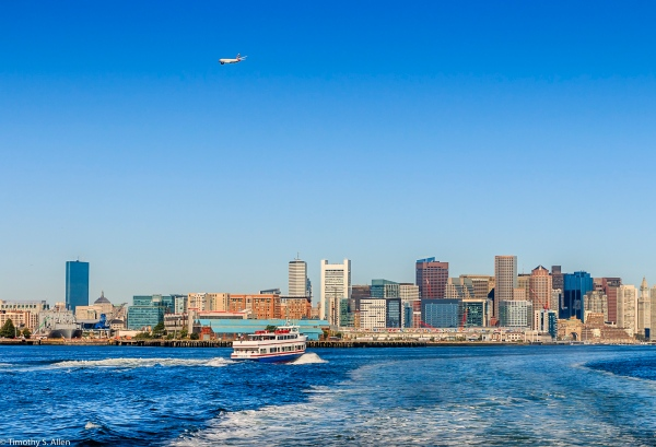 Boston Harbor, Boston, MA, U.S.A August 23, 2016