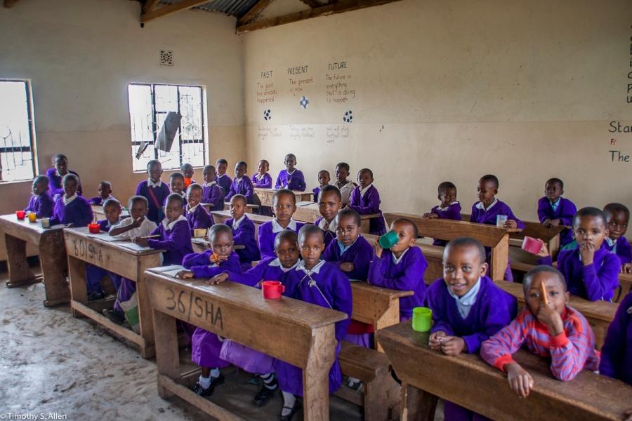 Plantation Elementary School Near Arusha, Tanzania February 8 2008