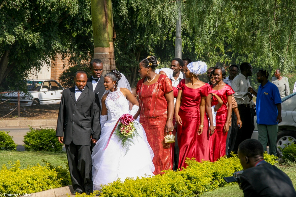 Wedding in the Roundabout Arusha, Tanzania February 9, 2008