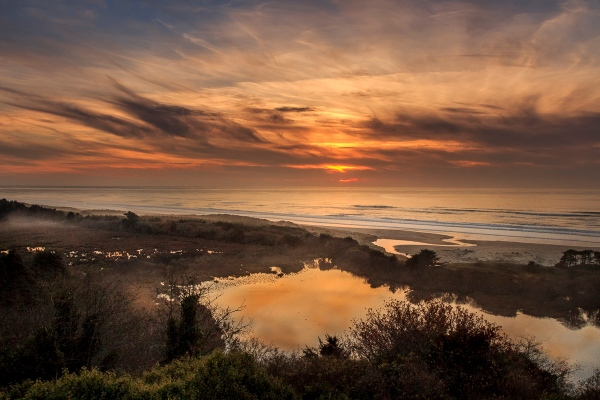 Oregon Coast, Oregon, U.S.A. November 10, 2013