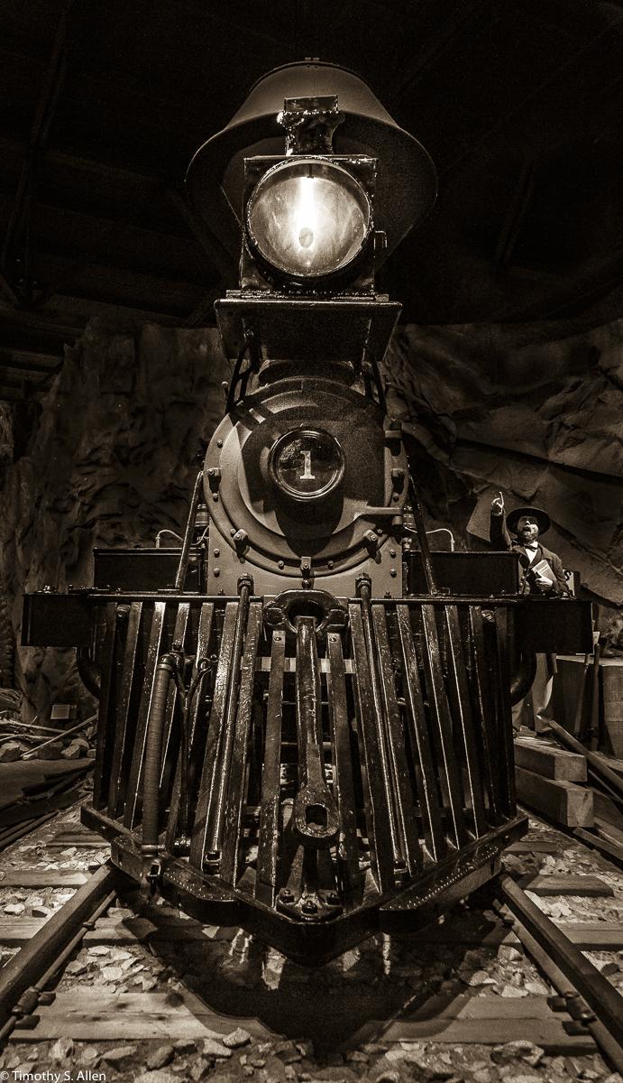 Central Pacific No. 1, Gov Stanford - California State Railroad Museum, Sacramento, CA, USA June 26, 2015