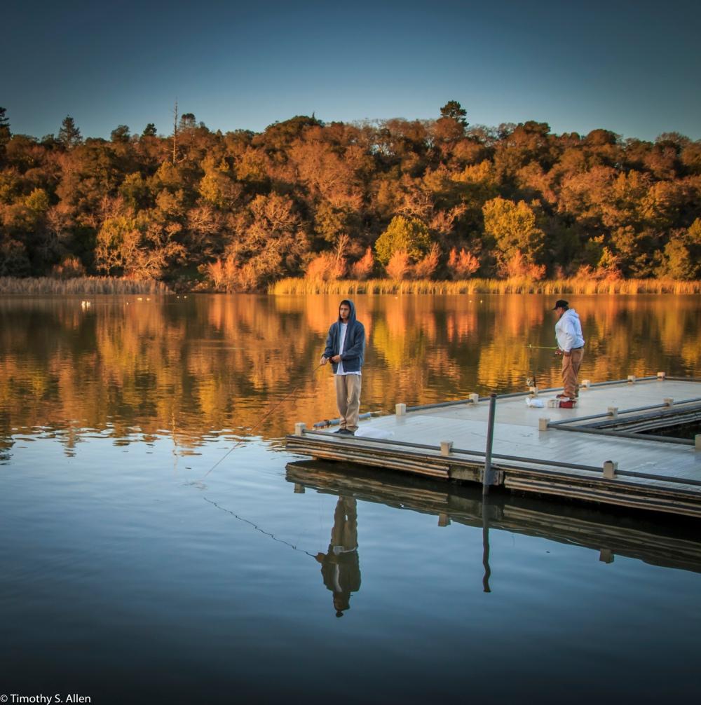 Spring Lake, Howarth Park Santa Rosa, CA, U.S.A. February 11, 2017