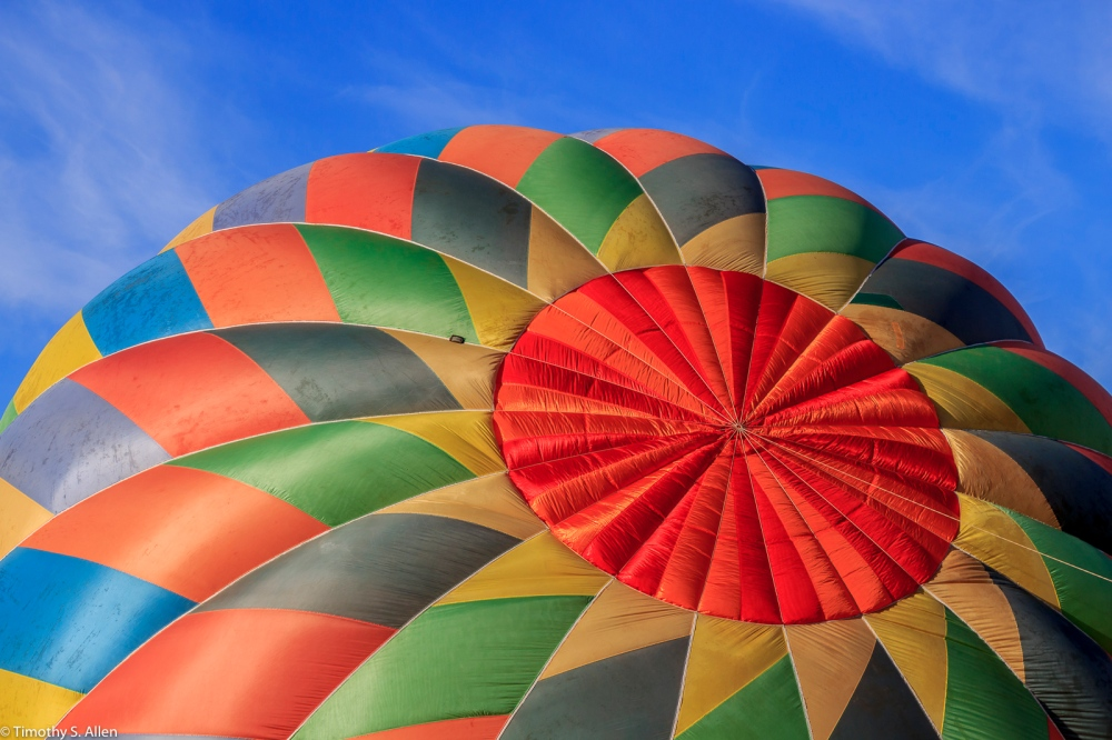 Sonoma County Hot Air Balloon Classic Windsor, CA, U.S.A. June 30, 2017