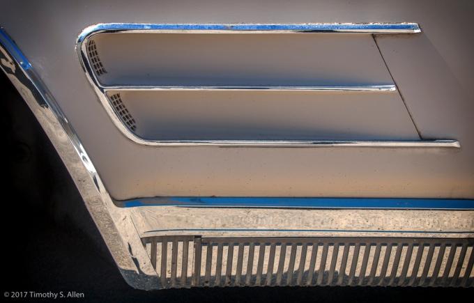 Side Panel - 1966 Starfire Oldsmobile Santa Rosa, CA, U.S.A. March 12, 2017