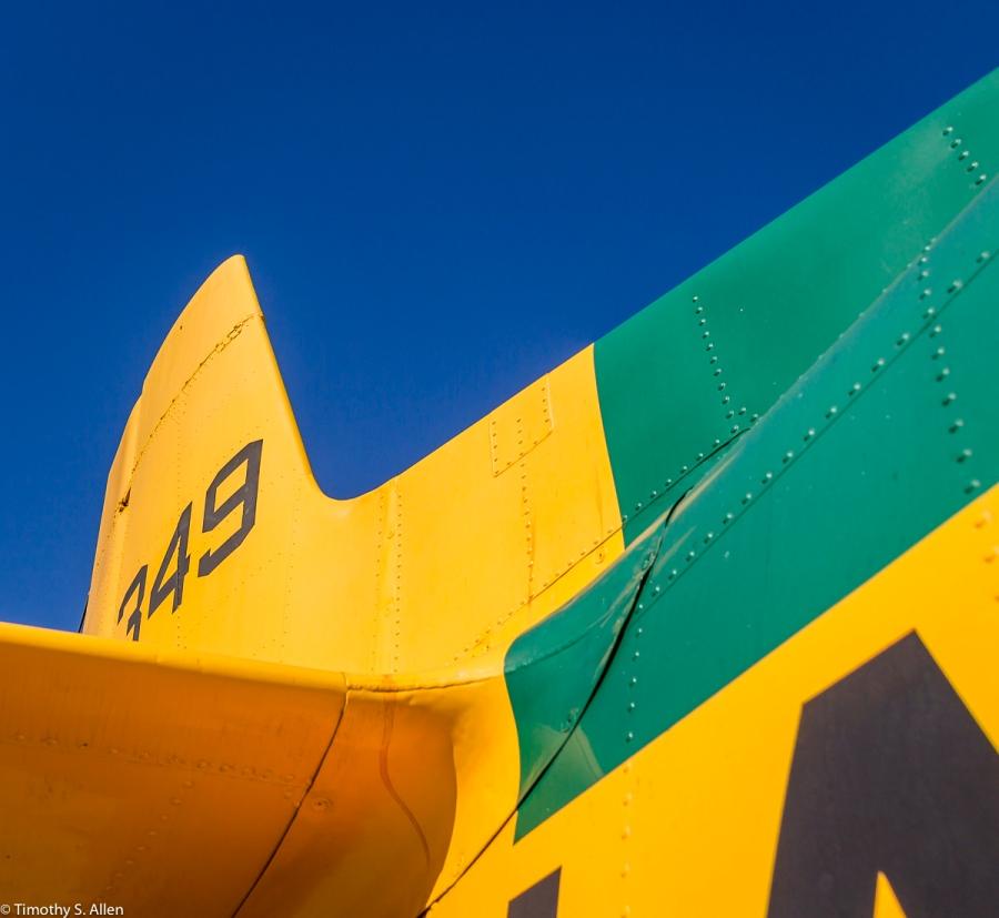 T-28B Trojan - USS Hornet - Alameda, CA, U.S.A. July 4, 2015