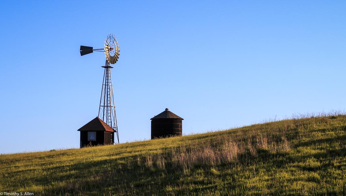 Windmill Sonoma County, CA, U.S.A. April 3, 2017