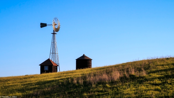 Windmill Sonoma County, CA, U.S.A. April 3, 2017