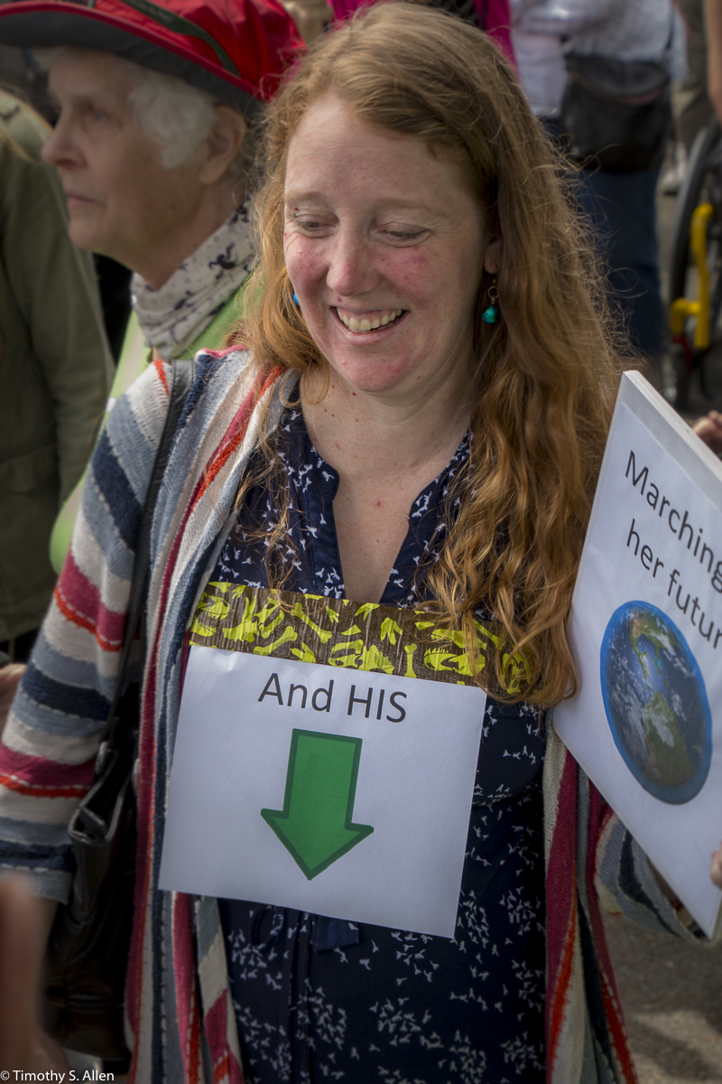 March for Science Santa Rosa, CA, U.S.A. April 22, 2017