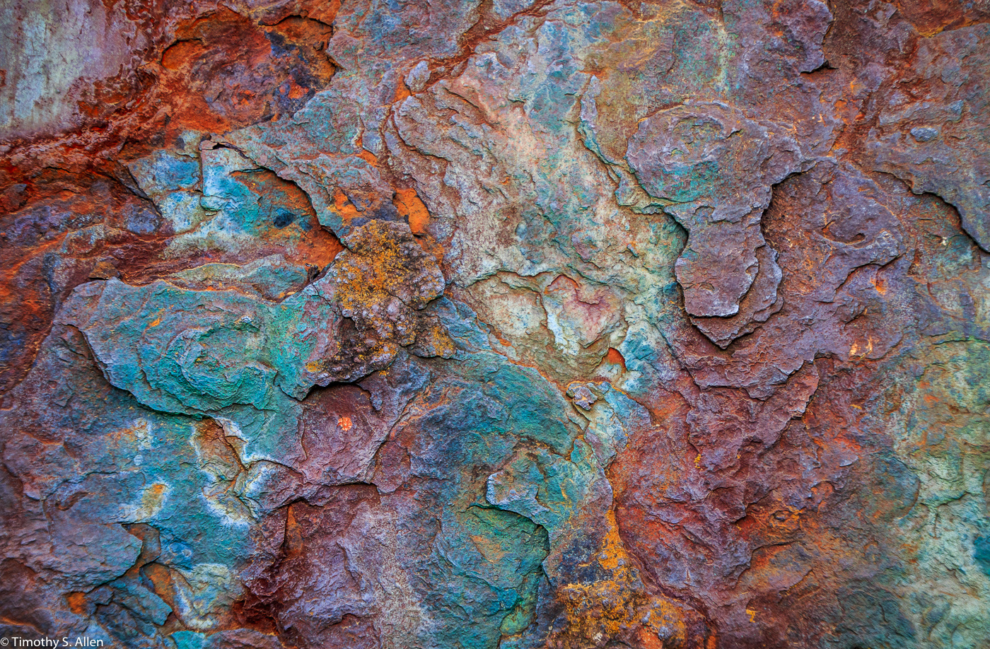Part of a Metal Cover at a Fortification - Golden Gate National Recreation Area, Marin Headlands, California, U.S.A. June 3, 2017