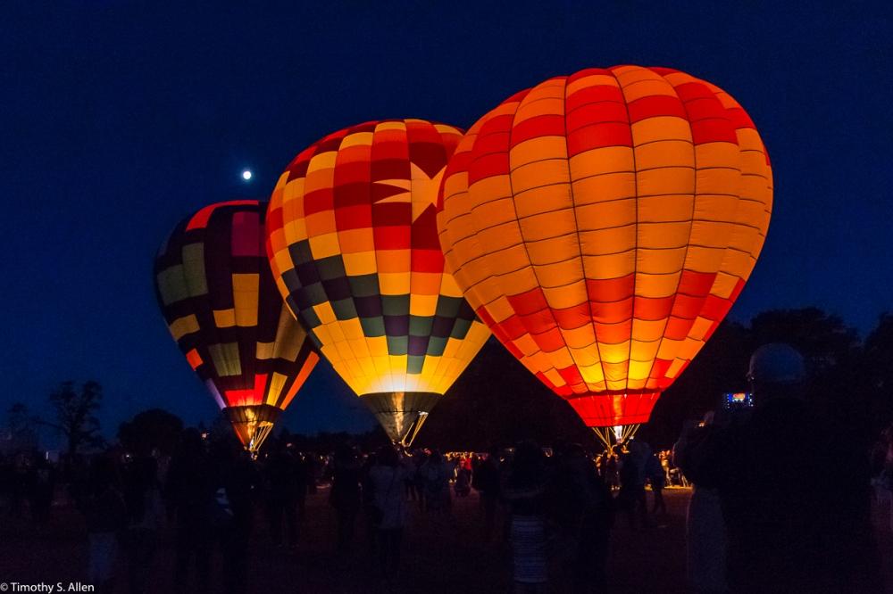 Sonoma County Hot Air Balloon Classic, Windsor, CA, U.S.A. June 11, 2017