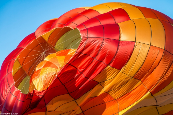 Letting the Air Out - Sonoma County Hot Air Balloon Classic, Windsor, CA, U.S.A. June 11, 2017