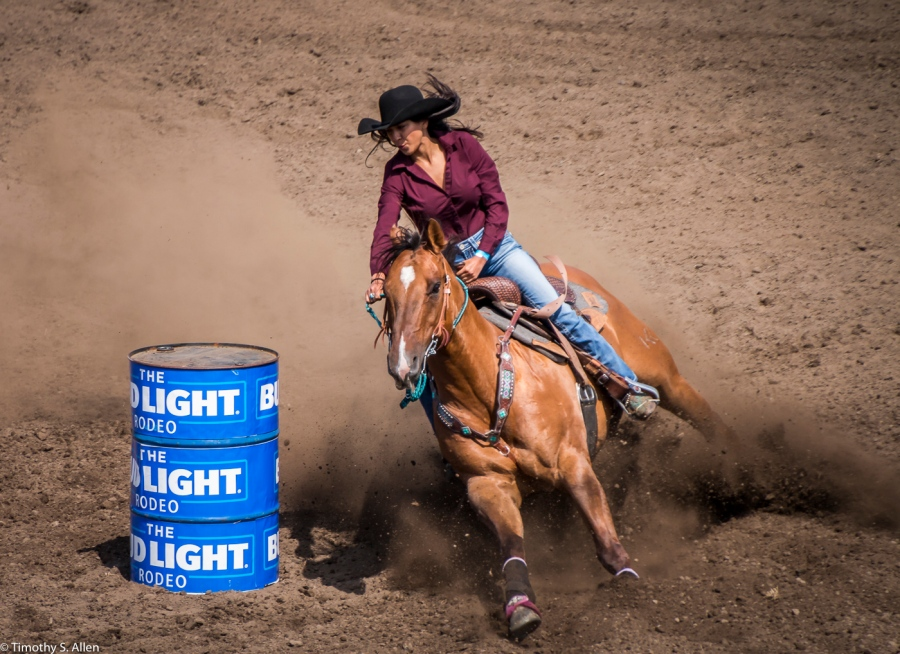 Russian River Rodeo - Duncan Mills, CA, U.S.A. June 24, 2017