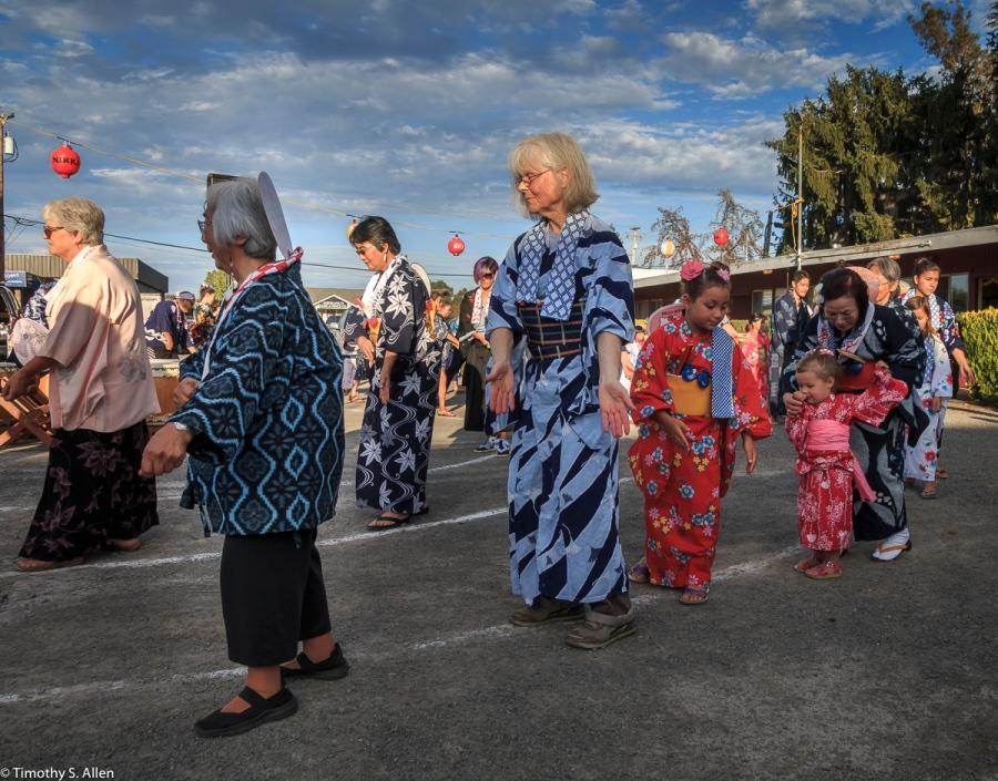 Obon Festival Enmanji Buddhist Temple Sebastopol, CA, U.S.A. July 15, 2017