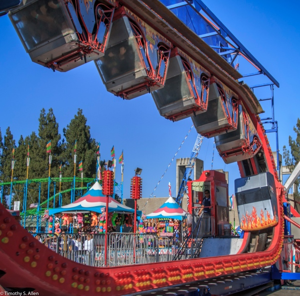 Cal Expo California State Fair Midway Sacramento, CA, U.S.A. July 25, 2017