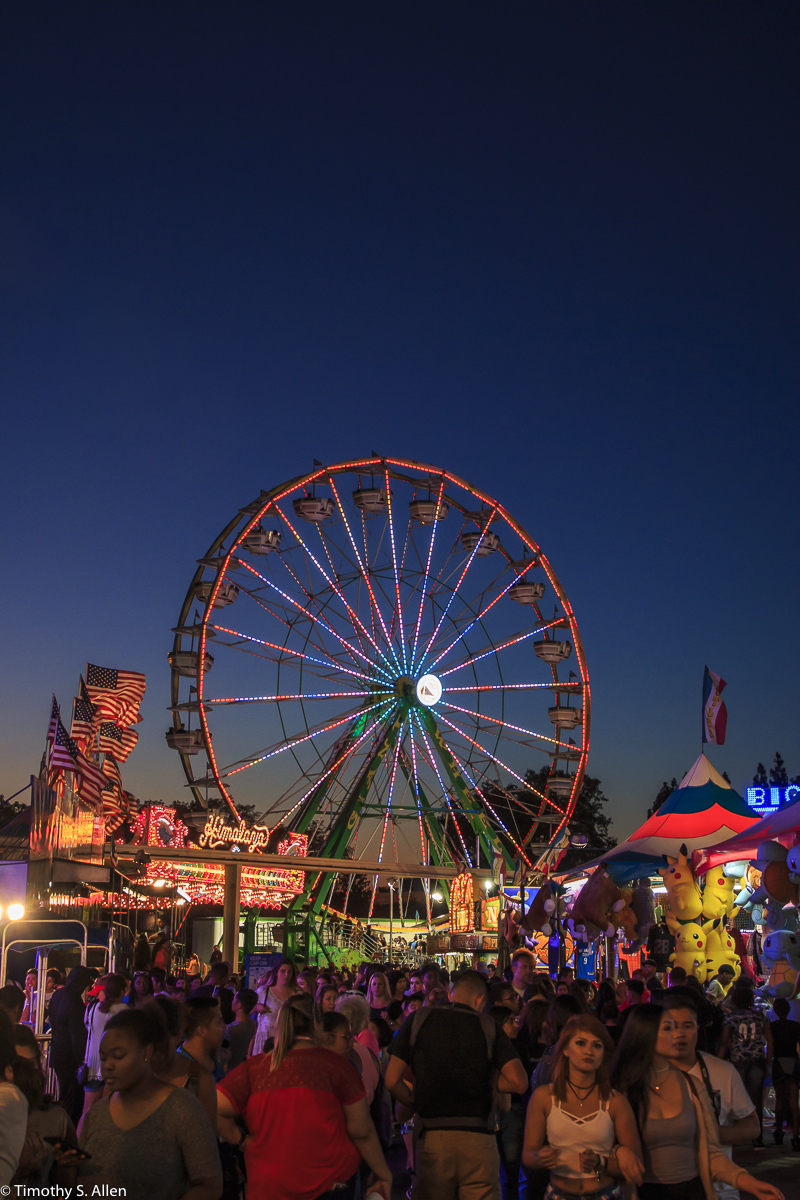 Cal Expo California State Fair Midway Sacramento, CA, U.S.A. July 25, 2017