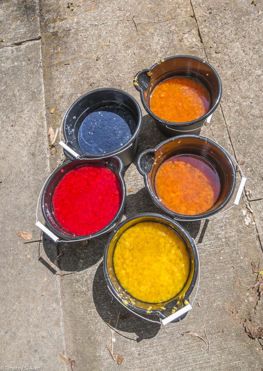 Colored Pulp Jane Ingram Allen Project Newnan Art Rez Newnan, GA, U.S.A. August 23, 2017