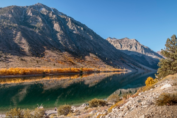Lundy Lake Eastern Sierra Nevada Mountains October 14, 2017