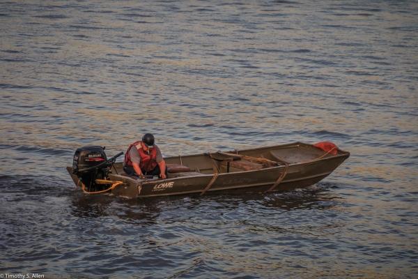 New York Harbor Off Hudson River Parkway, New York, NY, U.S.A. September 13, 2017