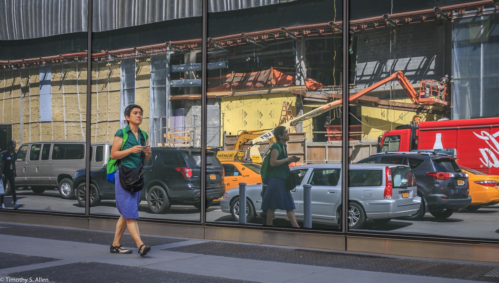 10th Ave, New York City, NY, U.S.A. September 13, 2017