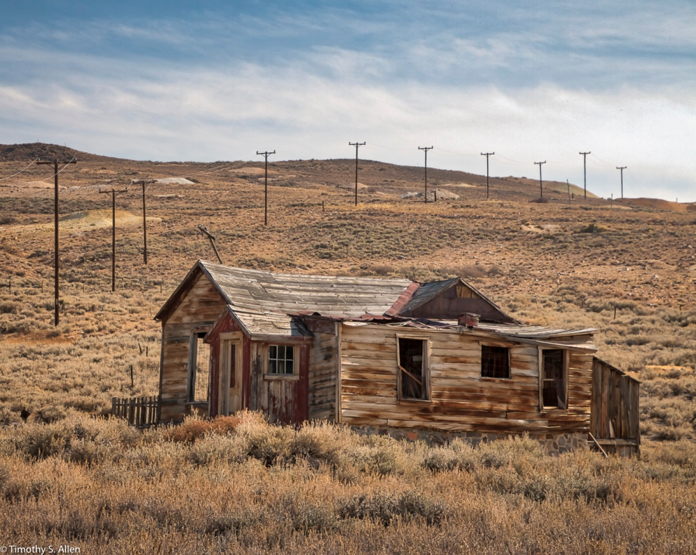 Bodie, California State Park, CA, U.S.A. October 16, 2017