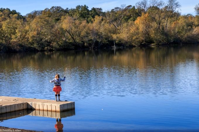 Spring Lake Regional Park, Sonoma County, CA, U.S.A. November 11, 2017