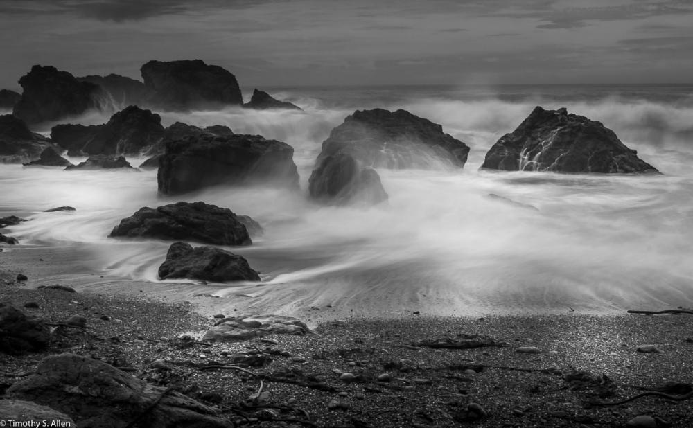 Sonoma County Beaches, Pacific Ocean, Sonoma County, CA, U.S.A. November 22, 2017
