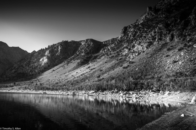 I Recently Saw the American Experience Documentary Film on Ansel Adams and It Inspired Me to Take One of My Images from the Eastern Sierras and Switch It to B&W. June Lake Loop - Eastern Sierra Nevada Mountains, CA, U.S.A. October 13, 2017