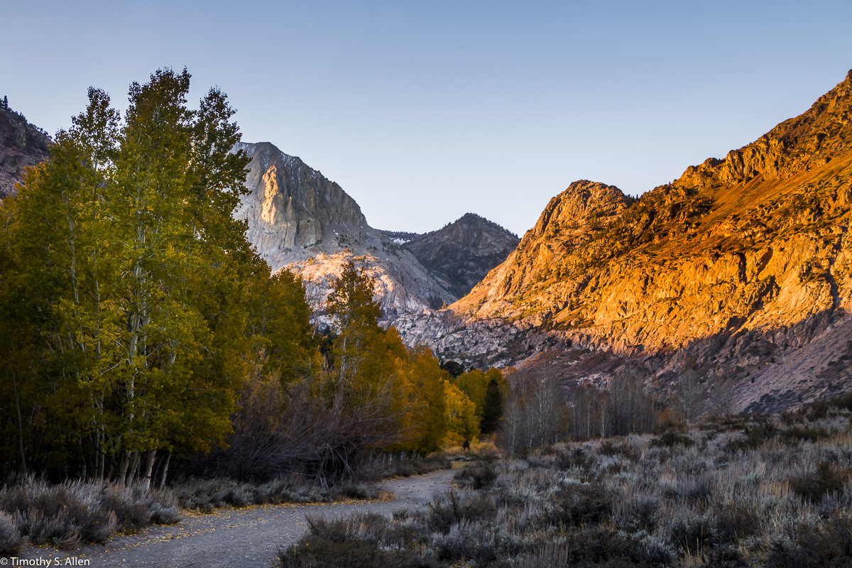 June Lake Loop, Eastern Sierra Nevada Mountains, CA, U.S.A. October 13, 2017