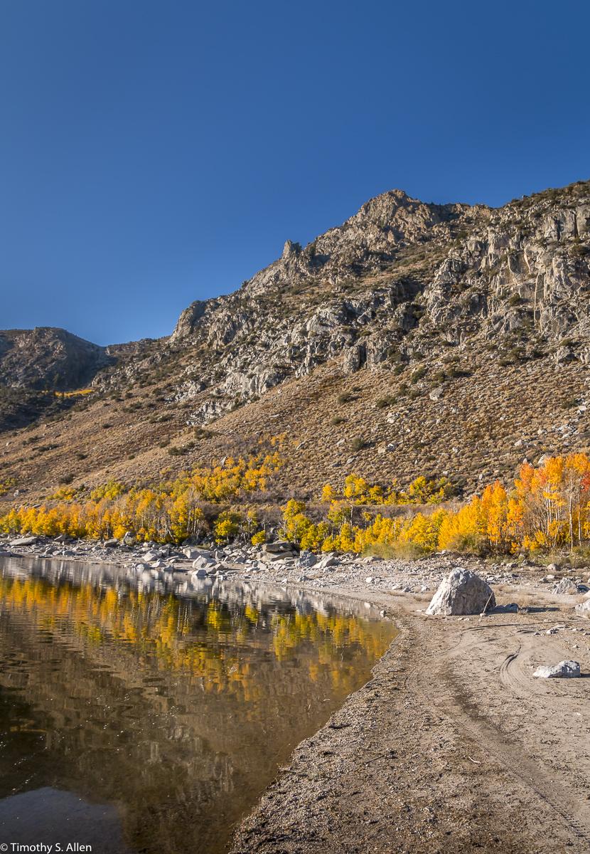 June Lake Loop - Eastern Sierra Nevada Mountains, CA, U.S.A. October 13, 2017