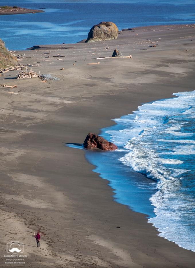 North Salmon Creek Beach Sonoma County, CA, U.S.A. March 4, 2018