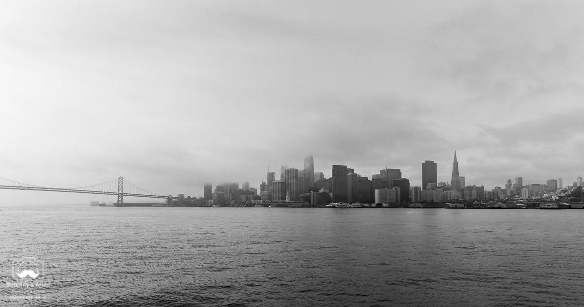 Coming into San Francisco by the Larkspur Ferry San Francisco, CA, U.S.A. March 9, 2018
