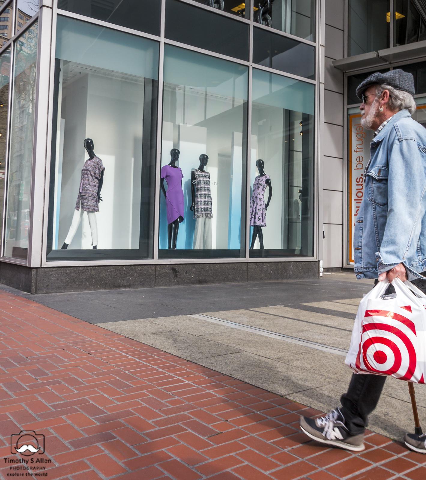 Market Street, San Francisco, CA, U.S.A. March 9, 2018