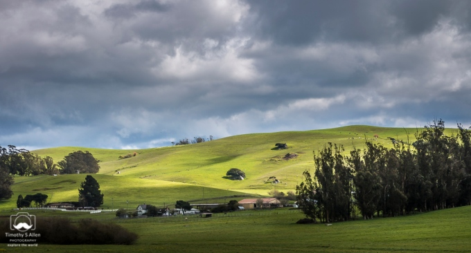 Off of Valley Ford Road, Petaluma, CA, U.S.A. March 17, 2018