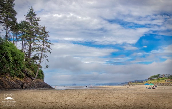 Neskowin Beach, Oregon, July 12, 2015