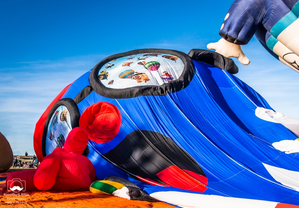 Pencil Man, Sonoma County Hot Air Balloon Classic, Windsor, CA, U.S.A. June 09, 2018
