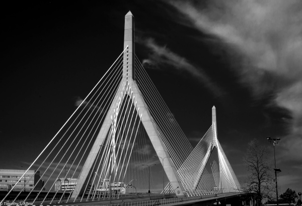 HDR with three long bracketed exposures of 10 to 30 seconds using a ND 10 filter. Boston, MA, U.S.A. September 16, 2018